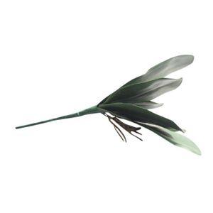 Artificielle Feuilles Vertes mousse Papillon Orchidée Soie Feuille Plante Maison Décoration