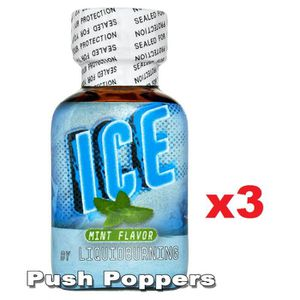 STIMULANT VERITABLE POPPERS ICE MINT 24 ML LOT DE 3