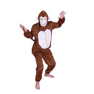 Les adultes animal Piggy Back costume homme femme Singe Déguisement Nouveauté