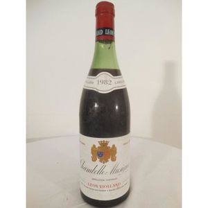 VIN ROUGE chambolle-musigny violland rouge 1982 - bourgogne