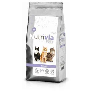 CROQUETTES Nutrivia Vet - Croquettes Renal pour Chats - 3Kg