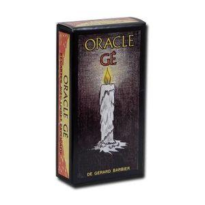 CARTES DE JEU Oracle Gé - Jeu de 61 cartes