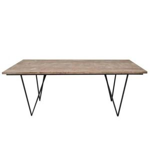 table a manger bois brut