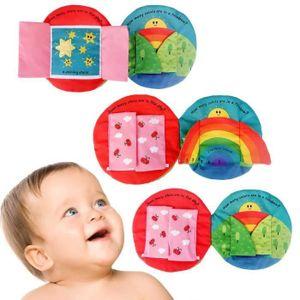LIVRE D'ÉVEIL Doux tissu Intelligence bébé Développement En savo