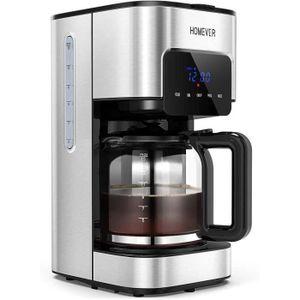 MACHINE À CAFÉ Machine à Café Filtre,  1,5L Cafetiere Filtre,Jusq