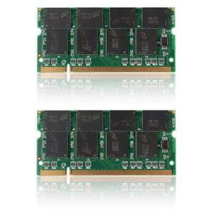 MÉMOIRE RAM BO Lot de 2pcs 1 G GO GB Mémoire RAM DDR 333 Mhz P