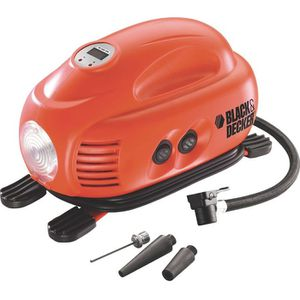 COMPRESSEUR AUTO BLACK & DECKER Compresseur 12 V 8.27 bars