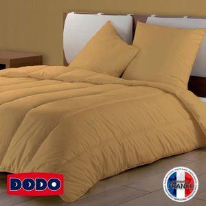 COUETTE DODO Couette Couleur - 200 x 200 cm - Ocre