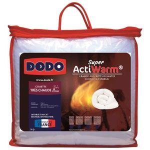 COUETTE DODO Couette très chaude 450g/m² SUPER ACTIWARM 20