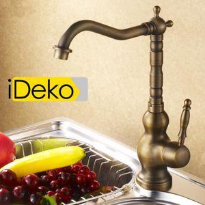 ROBINETTERIE DE CUISINE iDeko®Robinet Mitigeur cuisine rétro cuivre& Flexi