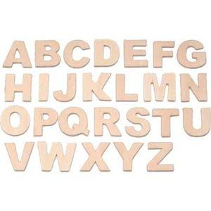 OBJET DÉCORATIF Set de lettres, en bois Lettres A-Z. tailles: 25 m