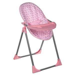 NURSERIE LISSI DOLLS Chaise Poupon 4 en 1