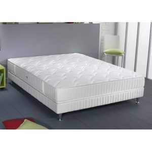 ENSEMBLE LITERIE SIMMONS Ensemble matelas + sommier 160 x 200 - Res