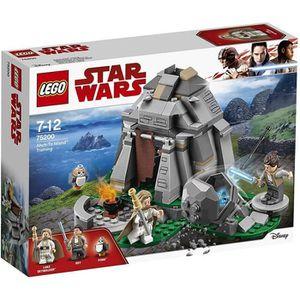 ASSEMBLAGE CONSTRUCTION LEGO® Star Wars™ 75200 Entraînement sur l'île d'Ah