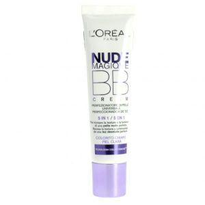 CORRECTEUR TEINT L'oreal Nude Magique BB Cream 5 en 1 - Peau Claire