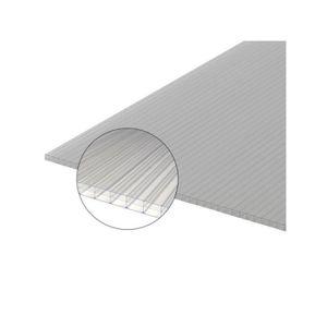 PLAQUE - BARDEAU Plaque polycarbonate alvéolaire 16mm - L: 2 m - l: