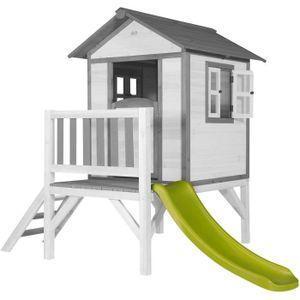 MAISONNETTE EXTÉRIEURE SUNNY Maisonnette Enfant Cabane en bois Lodge XL