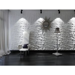 panneau mural 3d achat vente pas cher. Black Bedroom Furniture Sets. Home Design Ideas