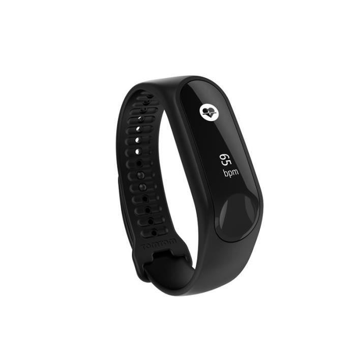 TOMTOM Bracelet d'Activité Touch Cardio - Bracelet Fin - Noir