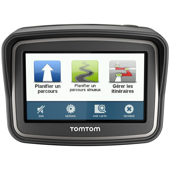 gps moto tomtom rider europe 45 pays achat vente gps. Black Bedroom Furniture Sets. Home Design Ideas