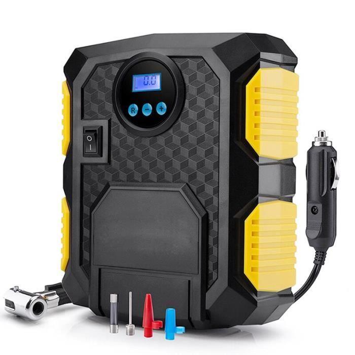 Compresseur d'air numérique Portable pour pneus de voiture, pompe pour pneus, pour motos, vélos, 12 v DC, 150 PSI [94968B3]