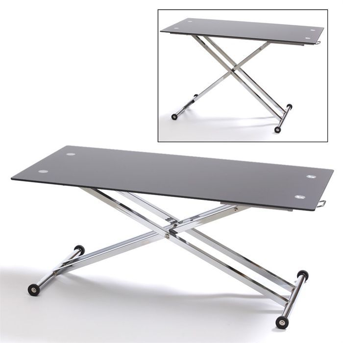 Potiron table monte baisse rectangle achat vente - Table monte et baisse ...