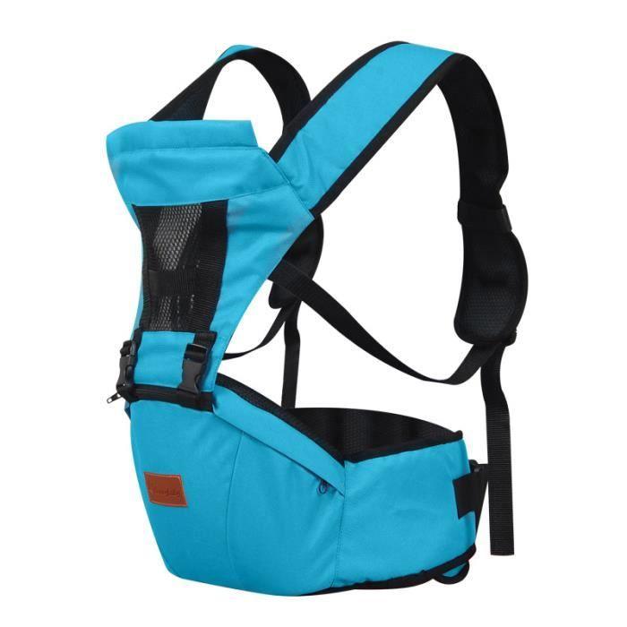 respirante Porte-bébé - taille Tabouret - Neonatal Bracelet - Strap multi-fonctionnelle - Façade Arrière Porte-bébé Sécurité - Brown