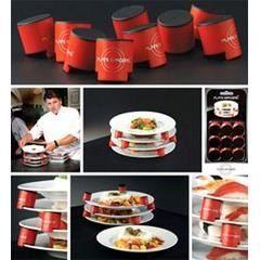 Espace assiettes (9 blocs pour 4 assiettes)