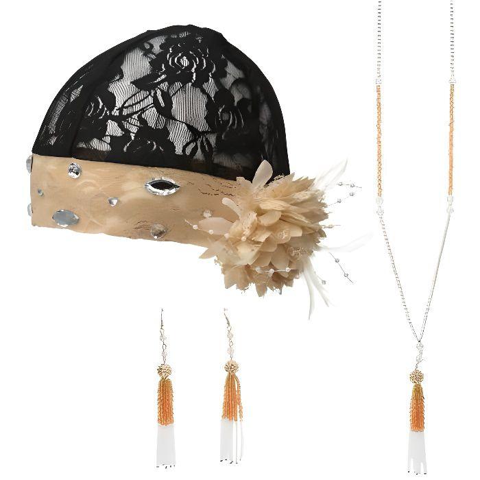 Kit accessoires charleston femme - Multicolore