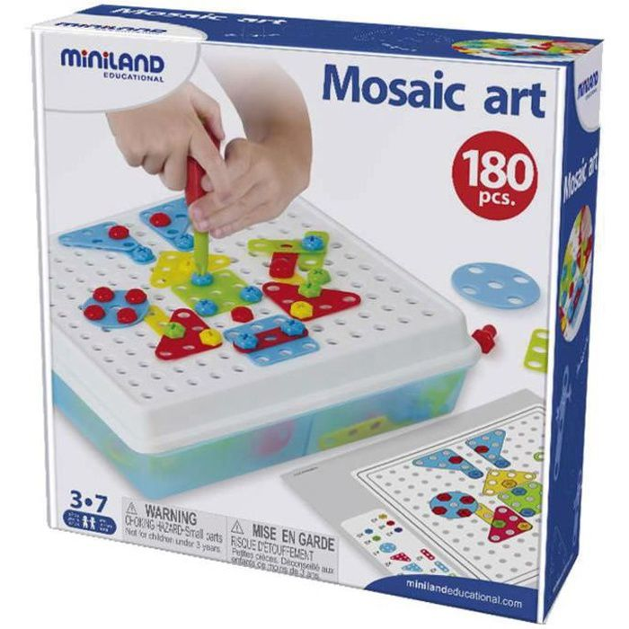 Jeu de construction : Mosaic Art