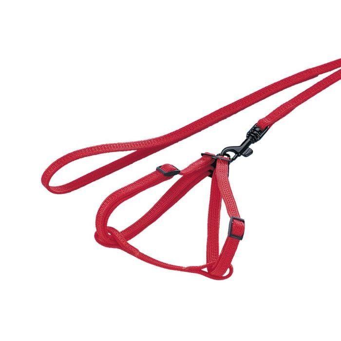 Nobby Harnais avec Laisse pour Furet Rouge 10 mm x 20-25 cm