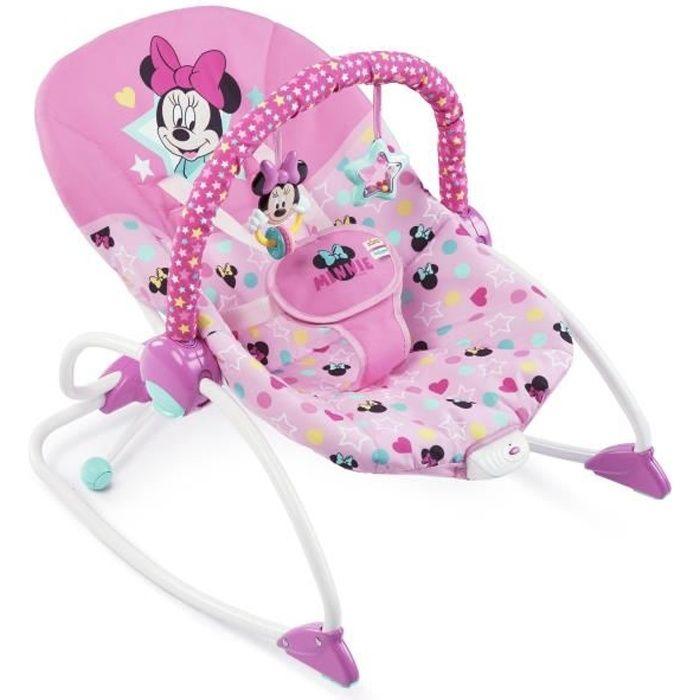Disney Baby Transat pour bébés à tout-petits Minnie Stars & Smiles