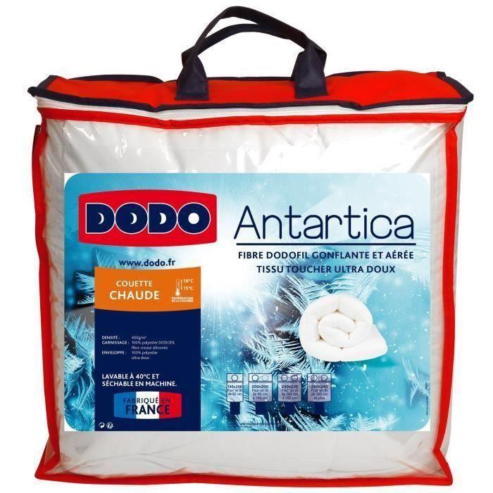 DODO Couette Chaude ANTARTICA 220 x 240 cm - 100% Polyester - 400g/m²