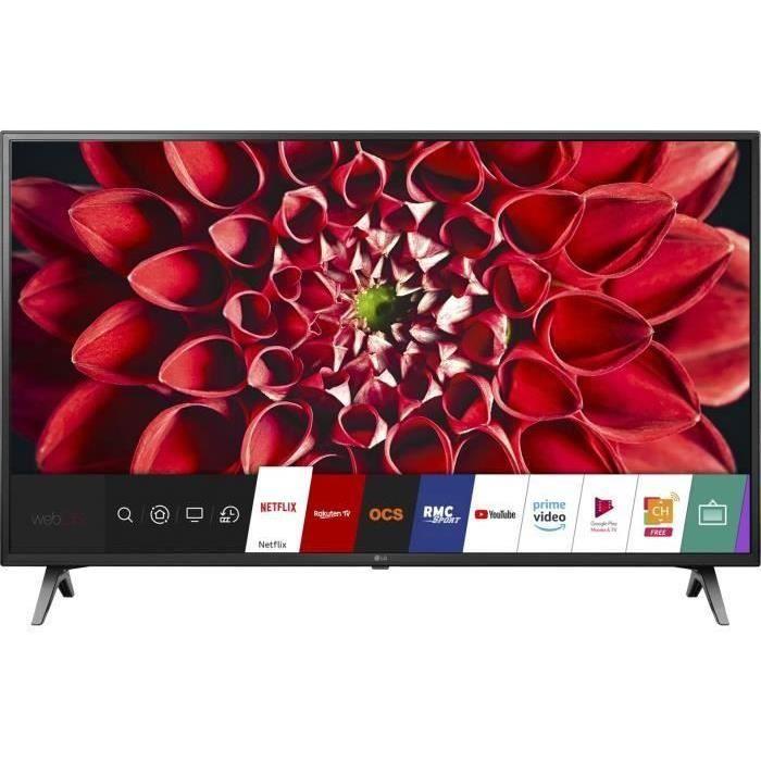 LG 49UM7100PLB TV LED 4K UHD - 49'' (123cm) - HDR10 - Smart TV Web OS 4.5 - 3 x HDMI - 2 x USB - Classe énergétique A