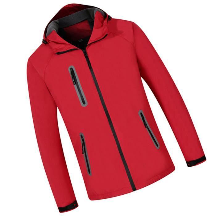 Costume D'Alpinisme Imperménisme Manteau d'Extérieur Veste de Randonnée à polaire de - polaire technique textile technique