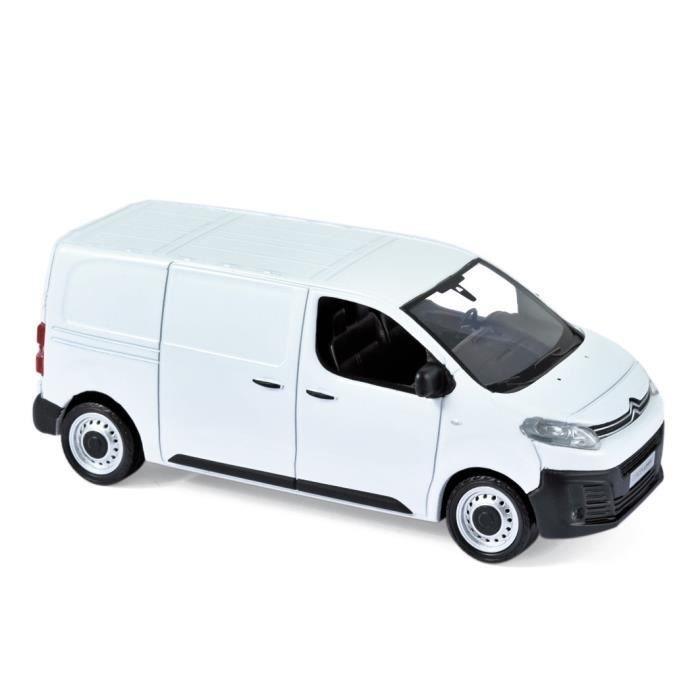 Véhicule Miniature assemble - Citroen Jumpy blanc 2016 1/43 Norev