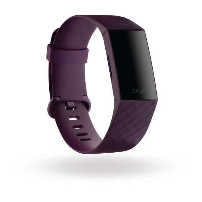 FITBIT Charge 4 - Bracelet connecté (NFC), Rosewood/Rosewood
