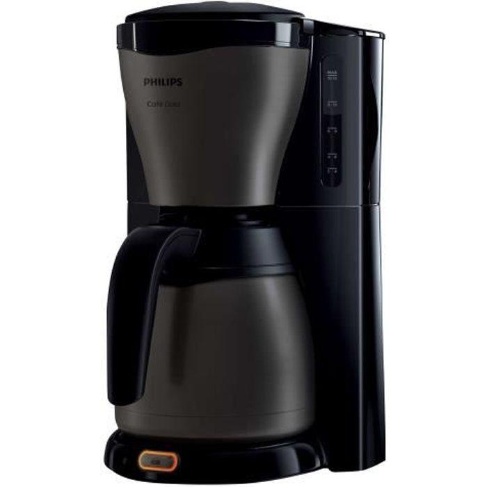 Philips Café Gaia HD7547 - Cafetière - 12 tasses - titane