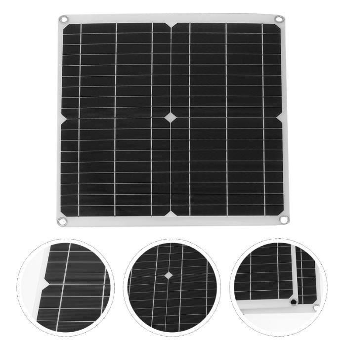 1 Ensemble Kit de panneau solaire 300W extérieur Plaque kit photovoltaique - kit solaire genie thermique - climatique - chauffage