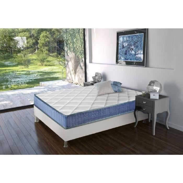reca bedding matelas chevalier 160x200 cm m moire de forme equilibr. Black Bedroom Furniture Sets. Home Design Ideas
