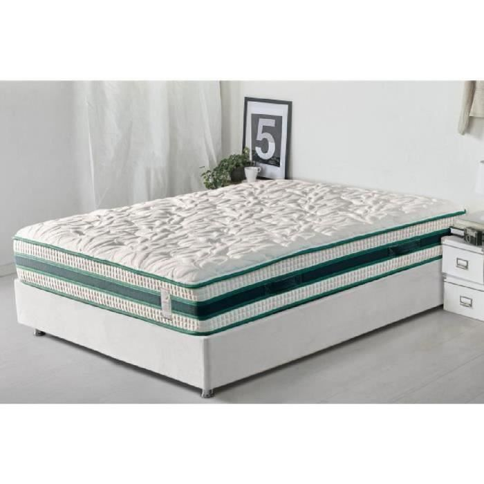 reca bedding matelas botanic 180x200 cm ressorts et m moire de forme. Black Bedroom Furniture Sets. Home Design Ideas