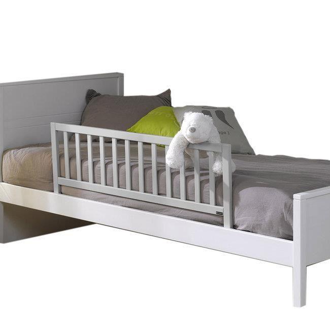 Barrière de lit enfant 120 Noé Gris clair