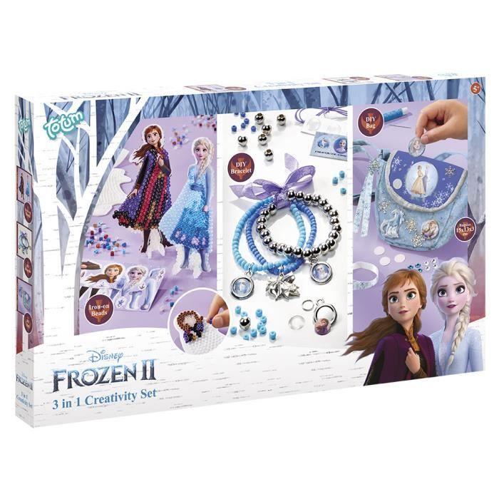 TOTUM kit créatif   Reine des neiges 2  3 activités différentes