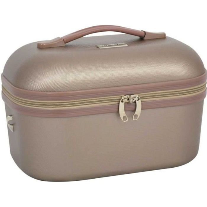 Vanity case TRAVEL'S -Kelly- - bronze - TRA-651M-17-KELLY