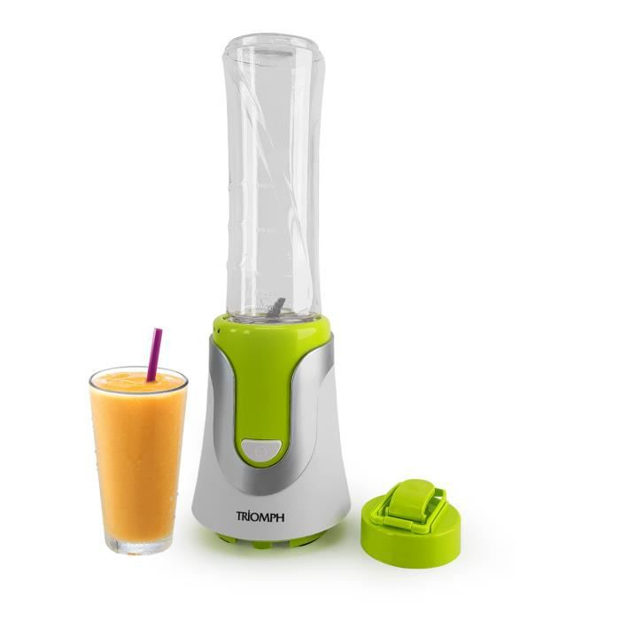 Blender à smoothie - 300W - Bouteille -sport- - 600 ml - Triomph ETF1828