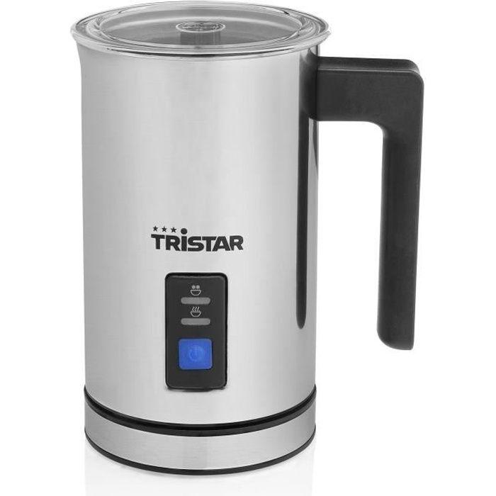 TRISTAR - MK-2276 - Émulsionneur à lait 500W - Fonction chaud et froid