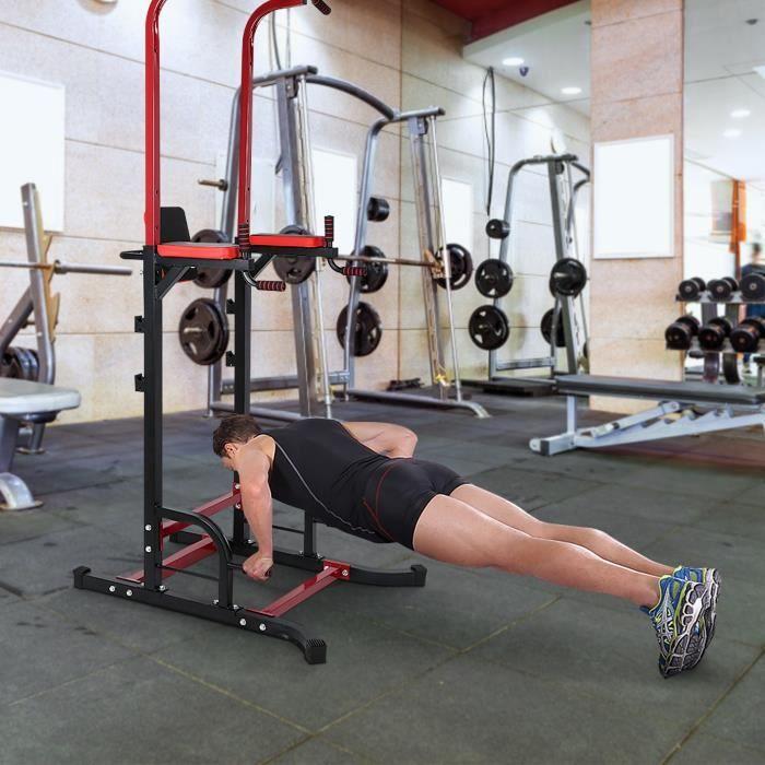 VGEBY Station de tractions et fitness,Barre de traction Station musculation Dips station HB010 HB1027 Bon Matériel