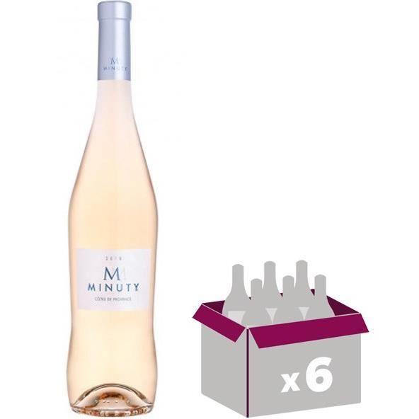 VIN ROSÉ M Minuty 2018 x6 Côtes de Provence rosé 13,0 % Vol