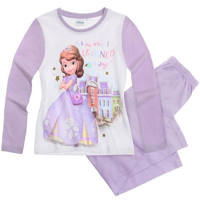 pyjama princesse sofia 2 ans achat vente pyjama. Black Bedroom Furniture Sets. Home Design Ideas