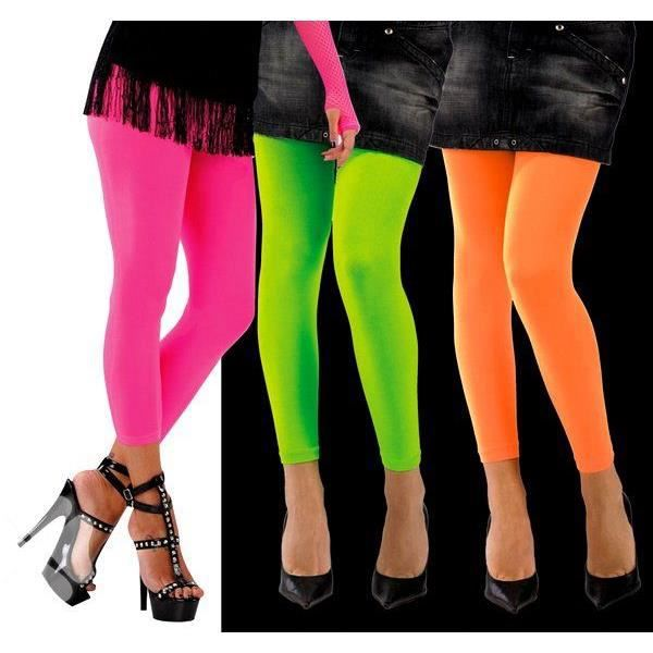 leggings fluorescents rose femme achat vente collant jambiere cdiscount. Black Bedroom Furniture Sets. Home Design Ideas